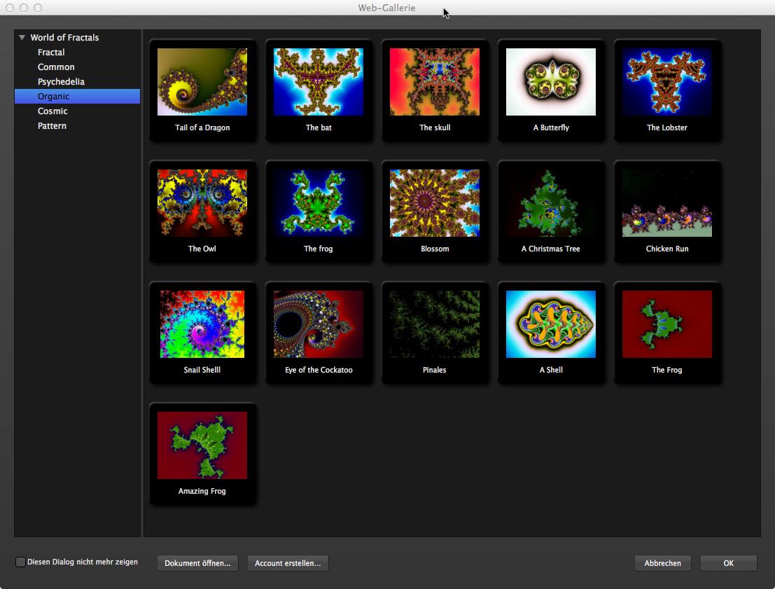 Web-Gallerie