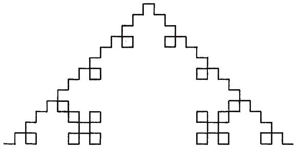 quadratische Koch-Kurve (Typ 1)