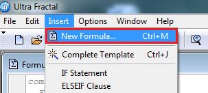 Neue Formel erstellen