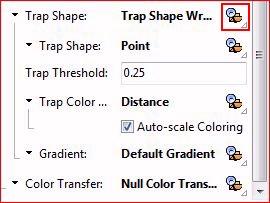 Einstellen des Trap Shape